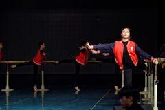 För Pekingdans för repetition som årlig akademi graderar för barn` s för prov den utstående utställningen Jiangxi för prestation  Royaltyfria Foton