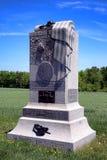 För Pennsylvania för Gettysburg nationalpark 121. minnesmärke infanteri Arkivbild