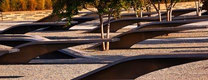 För Pentagon för 911 minnes- offer Washington attack DC Arkivbild