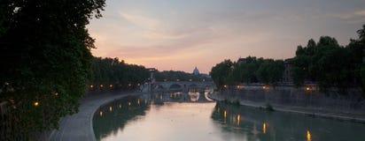 för peter s för basilica panorama- sikt st Royaltyfria Bilder