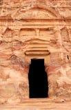 för petra-rock för stad jordan förlorad tomb för kunglig person Royaltyfria Foton