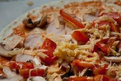 För pizzavänner Arkivbild