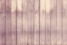 För plankavägg för rosa tappning wood bakgrund för textur Arkivfoto