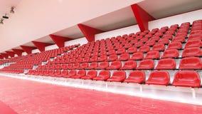 för platsstadion för hasadin röd thep Arkivfoto