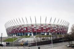 för poland för konstruktion nationell stadion lokal Royaltyfria Bilder