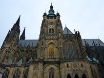 för prague för domkyrka tjeckisk vitus för st republik royaltyfria foton