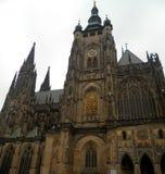 för prague för domkyrka tjeckisk vitus för st republik Royaltyfri Fotografi