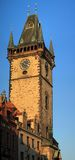 för prague för korridor gammal town torn Arkivfoton