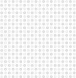För prickmodell för vit grå vektor för bakgrund Royaltyfri Fotografi