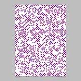 För prickmodell för lilor abstrakt bakgrund för broschyr Fotografering för Bildbyråer