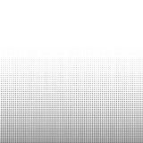 För pricktextur för cirkel svartvit rastrerad bakgrund för abstrakt modell och grafisk design Fotografering för Bildbyråer
