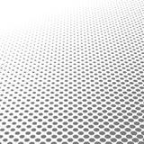 För pricktextur för cirkel svartvit rastrerad bakgrund för abstrakt modell och grafisk design Royaltyfria Bilder