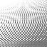 För pricktextur för cirkel svartvit rastrerad bakgrund för abstrakt modell och grafisk design Royaltyfri Bild