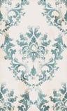 För prydnadmodell för tappning sömlös vektor Barock klassisk bakgrund Kunglig viktoriansk textur Gammal målad stildekor royaltyfri illustrationer