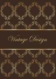 för prydnadpapper för bakgrund geometrisk gammal tappning Royaltyfria Bilder