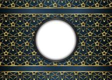 för prydnadpapper för bakgrund geometrisk gammal tappning Mellanrum för meddelande Royaltyfri Foto