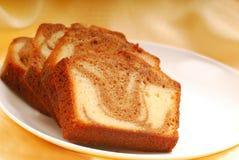 för pundskivor för cake kanelbrun swirl Royaltyfria Bilder