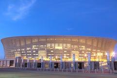 för punktstadion för udd grön town royaltyfria bilder