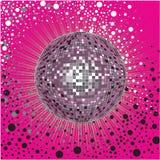 för räkningsdesign för boll cd vektor för disko Royaltyfria Bilder