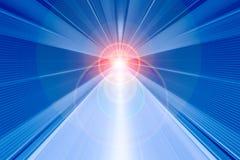 För rörelsesuddighet för snabb hastighet abstrakt begrepp för bakgrund med ljusa strålar arkivfoton