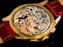 för rörelsevaljoux för 23 chronographe watch Arkivbilder