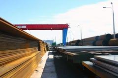 för rørprodukter för område färdigt stål för ark arkivfoto