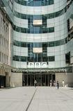 För radioutsändninghus för BBC ny ingång, London Arkivfoton