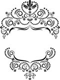 för ramdiagram för konster dekorativ prydnad Royaltyfria Foton