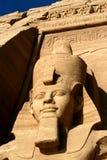 för ramesessimbel för abu ii tempel royaltyfri fotografi