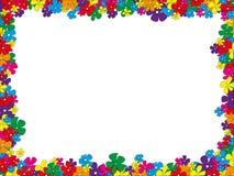 för ramhålet för bakgrund mönstrde härlig svart kpugloe fotoet Royaltyfri Fotografi