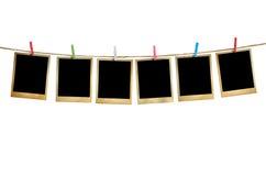 för ramhålet för bakgrund mönstrde härlig svart kpugloe fotoet Royaltyfri Foto