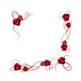 0 för ramvektor för 8 tillgängliga eps blom- vesion Royaltyfria Bilder