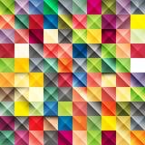 Vektormosaikbakgrund Arkivfoto