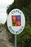 för republiktown för cesky tjeckisk krumlov medeltida gammal sikt Arkivfoto