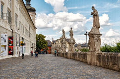 för republiktown för cesky tjeckisk krumlov medeltida gammal sikt Kyrka för ` s för St Barbara av Kutna Hora 14 Juni 2016 Royaltyfri Bild