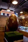 för republiktown för cesky tjeckisk krumlov medeltida gammal sikt Prague Chokladmuseum 15 Juni 2016 Arkivbild