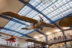 för republiktown för cesky tjeckisk krumlov medeltida gammal sikt Prague Nationellt tekniskt museum Flygplan Juni 11, 2016 Royaltyfria Bilder