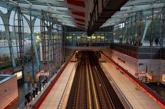för republiktown för cesky tjeckisk krumlov medeltida gammal sikt Prague Strizhkov tunnelbanastation Arkivfoton