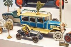 för republiktown för cesky tjeckisk krumlov medeltida gammal sikt Toy Museum i Prague Juni 13, 2016 Arkivbilder