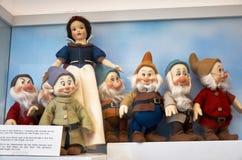 för republiktown för cesky tjeckisk krumlov medeltida gammal sikt Toy Museum i Prague Juni 13, 2016 Fotografering för Bildbyråer