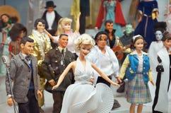 för republiktown för cesky tjeckisk krumlov medeltida gammal sikt Toy Museum i Prague Juni 13, 2016 Royaltyfri Fotografi