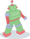 för robotstil för illustration retro toy vektor illustrationer