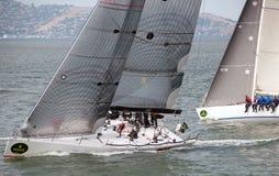 för rolexserie för 45th stora fartyg tävlings- yacht Fotografering för Bildbyråer