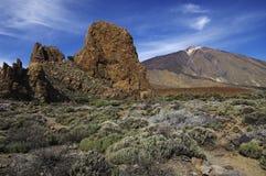 för roquesteide för el los vulkan Royaltyfria Bilder