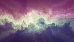 För rosa färgblått för naturlig härlig marmor turbulent bakgrund för animering för textur för modell - nytt unikt kvalitets- färg arkivfilmer