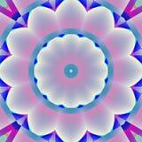 För rosa färggrå färger för den sömlösa abstrakta blomningen slösar vita lilor Arkivfoton