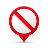 för rulltecken för symbol illustration förbjuden vektor för skridsko royaltyfri illustrationer