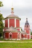 för russia för cirkel för domkyrkademetrius guld- vladimir för lopp st Suzdal Sikt av den gamla kyrkan Fotografering för Bildbyråer