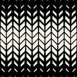 För sömlös modell för raster för sparre BW för vektor triangel diagonal Royaltyfri Bild