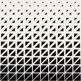 För sömlöst svartvitt rastrerad modell triangelraster för vektor Royaltyfri Foto